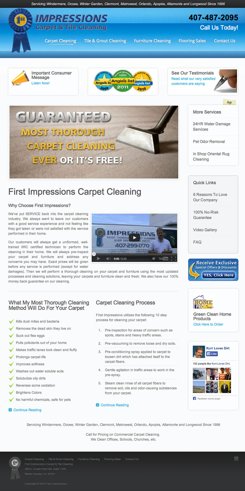 First Impressions Carpet Cleaning
